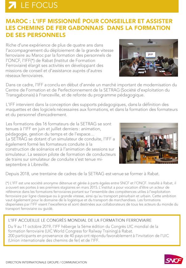 Sncf La Lettre D Information De La Direction